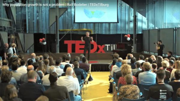 TEDxTalk: waarom bevolkingsgroei geen probleem is