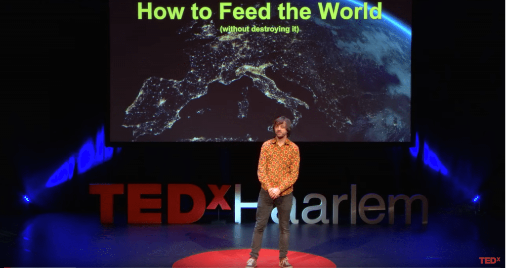 TedTalk Hidde Boersma – How to feed the world