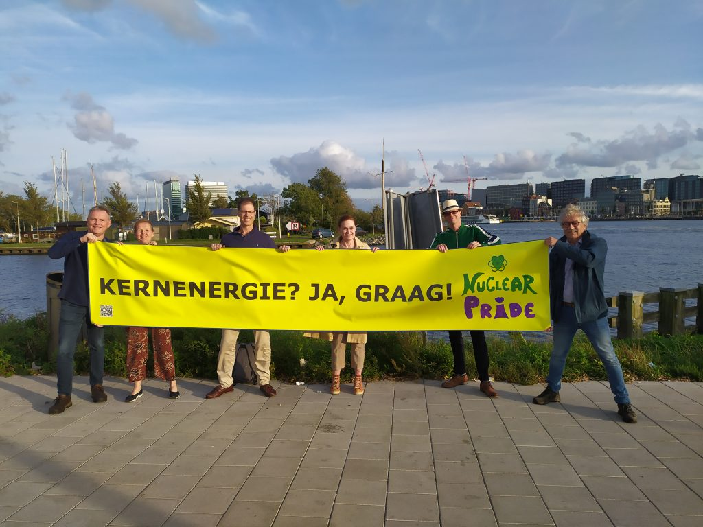 Stichting Ecomodernisme steunt Stand Up for Nuclear